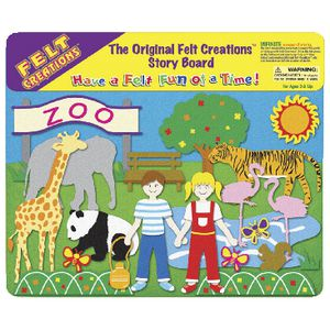 Felt Creations Zoo Storyboard Set