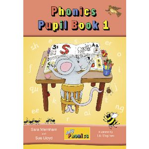 Jolly Phonics Precursive Pupil Book 1