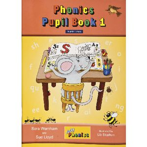 Jolly Phonics Print Pupil Book 1