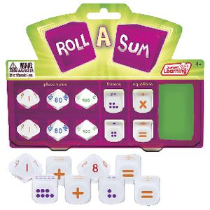 Junior Learning Roll A Sum Dice