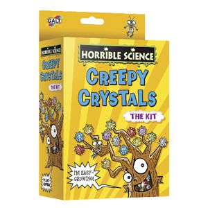 Horrible Science Creepy Crystals Set