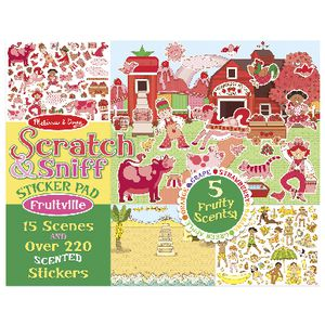 Melissa & Doug Scratch and Sniff Sticker Pad Fruitville