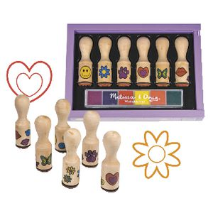 Melissa & Doug Happy Handle Stamp Set