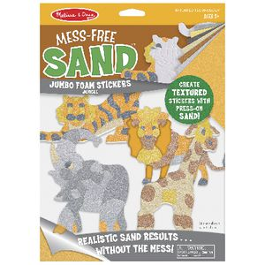 Melissa and Doug Foam Sand Stickers Jungle
