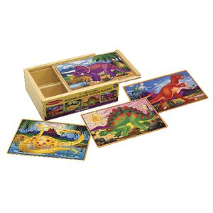 Melissa & Doug Puzzle in a Box Dinosaurs