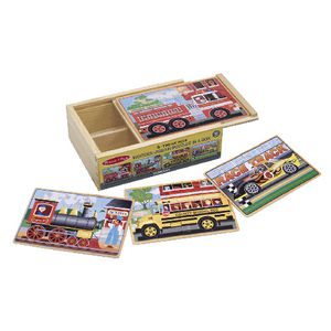 Melissa & Doug Puzzle in a Box Vehicle