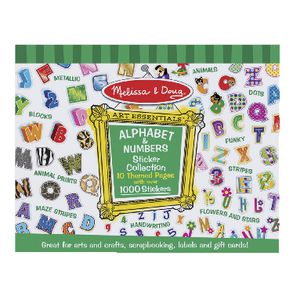 Melissa & Doug Alphabet and Numbers Sticker Collection
