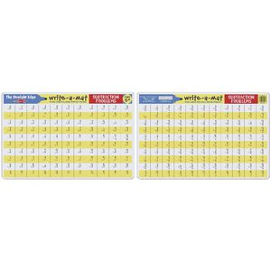Melissa & Doug Write-A-Mat Subtraction