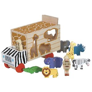 Melissa & Doug Animal Shape Sorting Truck