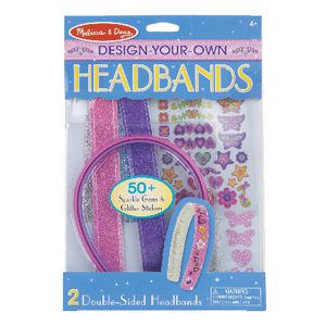 Melissa & Doug Design Your Own Headbands Set