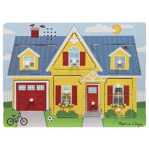 Melissa and Doug Wooden Puzzle Around the House