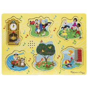 Melissa and Doug Wooden Puzzle Nursery Rhyme 1