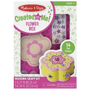 Melissa & Doug Wooden Craft Kit Flower Box