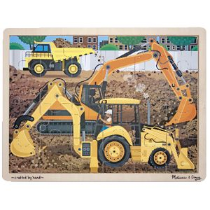 Melissa & Doug Diggers at Work Jigsaw Puzzle
