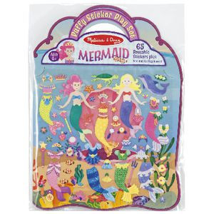 Melissa & Doug Puffy Stickers Play Set Mermaid