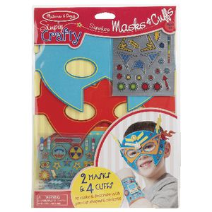 Melissa & Doug Simply Crafty Hero Masks