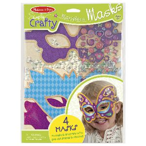 Melissa & Doug Simply Crafty Mask Kit