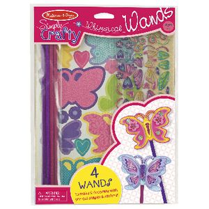 Melissa & Doug Simply Crafty Butterfly Wands