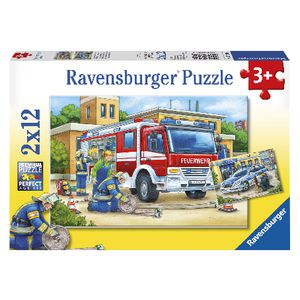 Ravensburger Puzzle Police and Firefighters