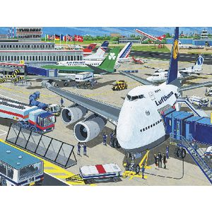 Ravensburger Airport Puzzle | Officeworks