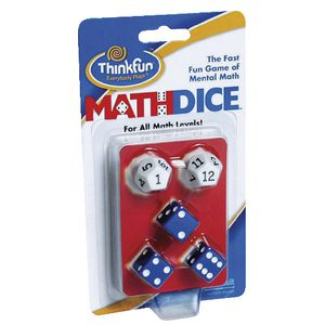 Thinkfun Maths Dice Game