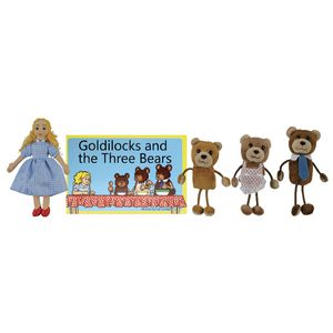 The Puppet Company Goldilocks Puppet Story Set