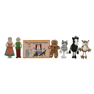 The Puppet Company Gingerbread Man Puppet Story Set