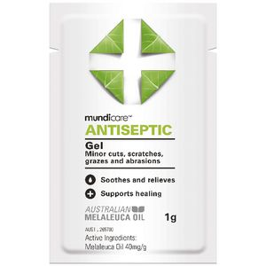 Mundicare Antiseptic Gel 10 Pack