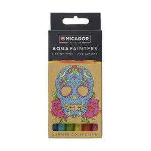Micador for Artist AquaPainters Summer Collection 6 Pack