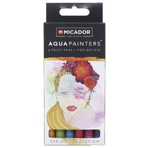 Micador for Artist AquaPainters Spring Collection 6 Pack