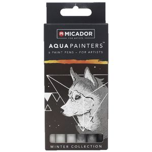 Micador for Artist AquaPainters Winter Collection 6 Pack
