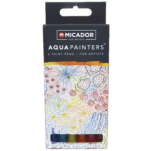 Micador for Artist AquaPainters Autumn Collection 6 Pack