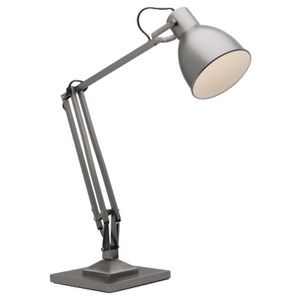 High Quality ... Mercator Ashton 55cm Desk Lamp Pewter