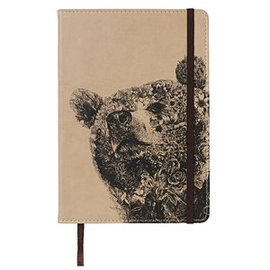 Marini Ferlazzo A5 Hard Cover Journal Bear 240 Page