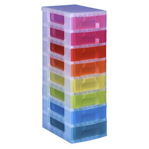 Really Useful Box 8 Drawer Trolley Assorted Colours | Tuggl
