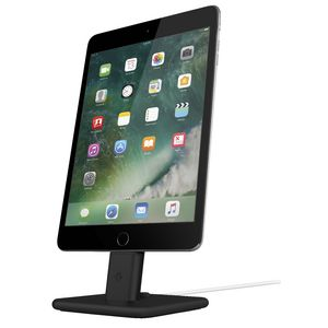Twelve South Hi Rise 2 iPad and iPhone Charging Stand Black