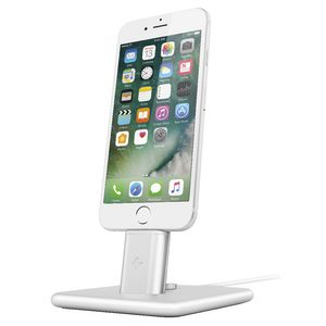 Twelve South Hi Rise 2 Deluxe Smartphone Charge Stand Silver