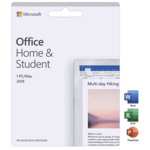 microsoft office home and student 2019 software