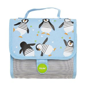 Milan Multi Pencil Case Set Penguins