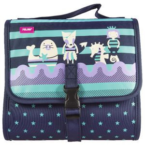Milan Multi Pencil Case Set Anchor Club Purple