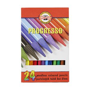 Koh-I-Noor Progresso Coloured Pencils 24 Pack
