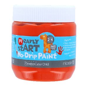 Micador early stART No Drip Paint 250mL Orange Sherbet