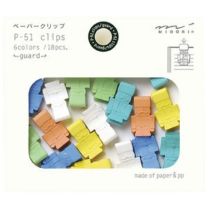 Midori P-51 Clips Soldier 18 Pack