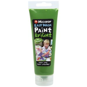 Micador Easy Wash Paint 120mL Green