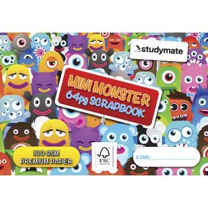 Studymate Premium Scrapbook Mini Monster