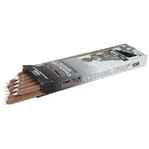 General's White Charcoal Pencils 12 Pack