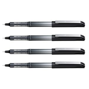 Uni-Ball Eye Needle Micro Rollerball Pens Black 4 Pack