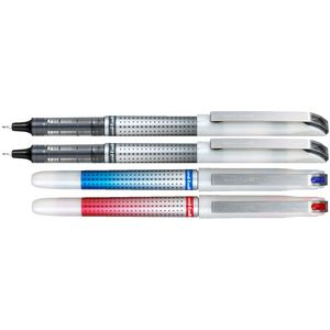 Uni-Ball Eye Needle Fine Rollerball Pens Assorted 4 Pack