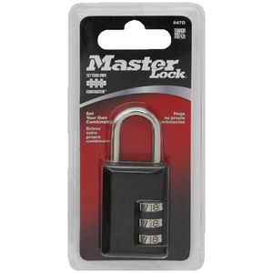 Master Lock 30mm Luggage Padlock