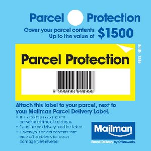 Mailman Parcel Protection Cover Up To $1500